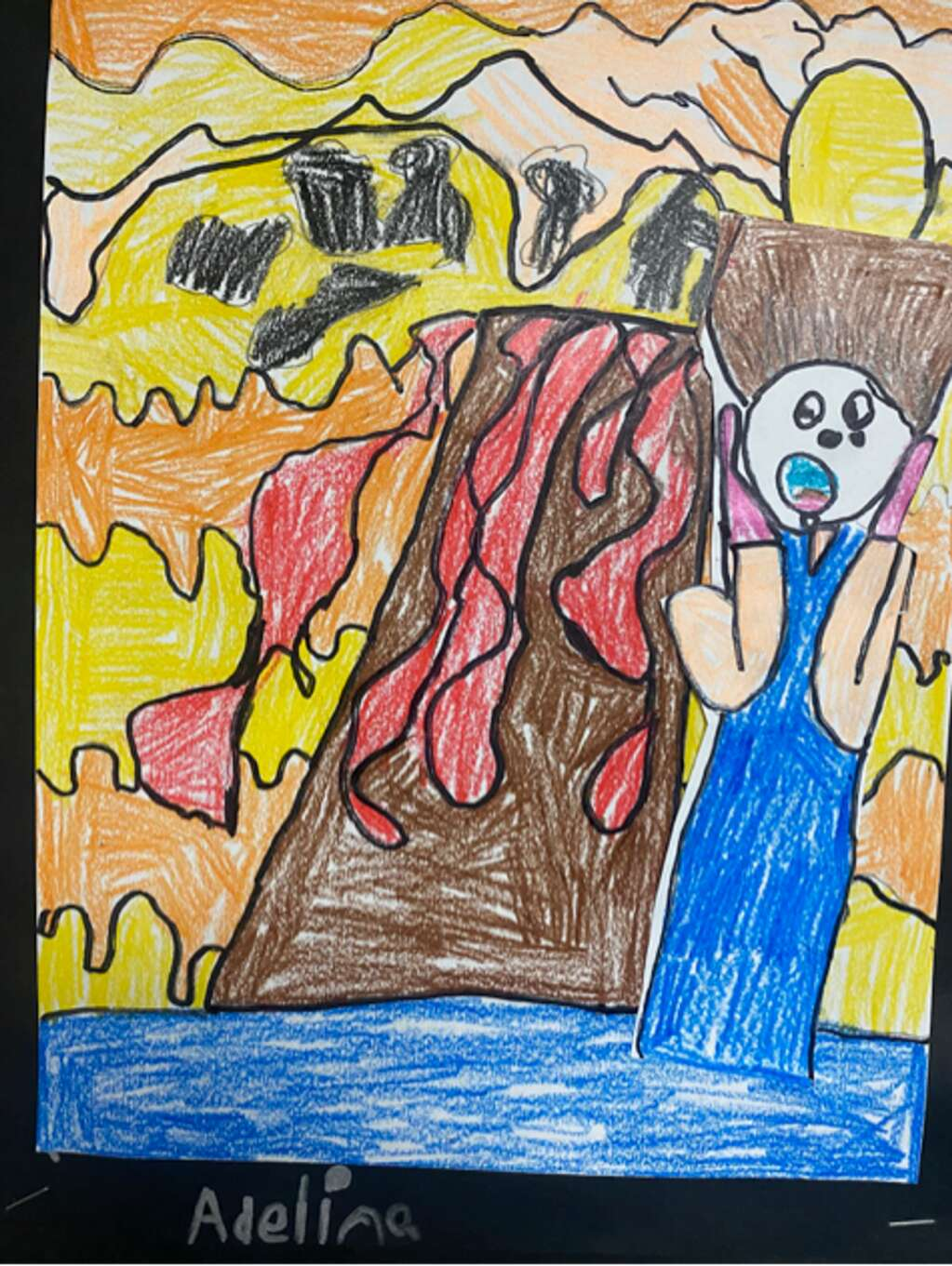Produced by Adeline H. at Granby Elementary School. | Courtesy EGSD