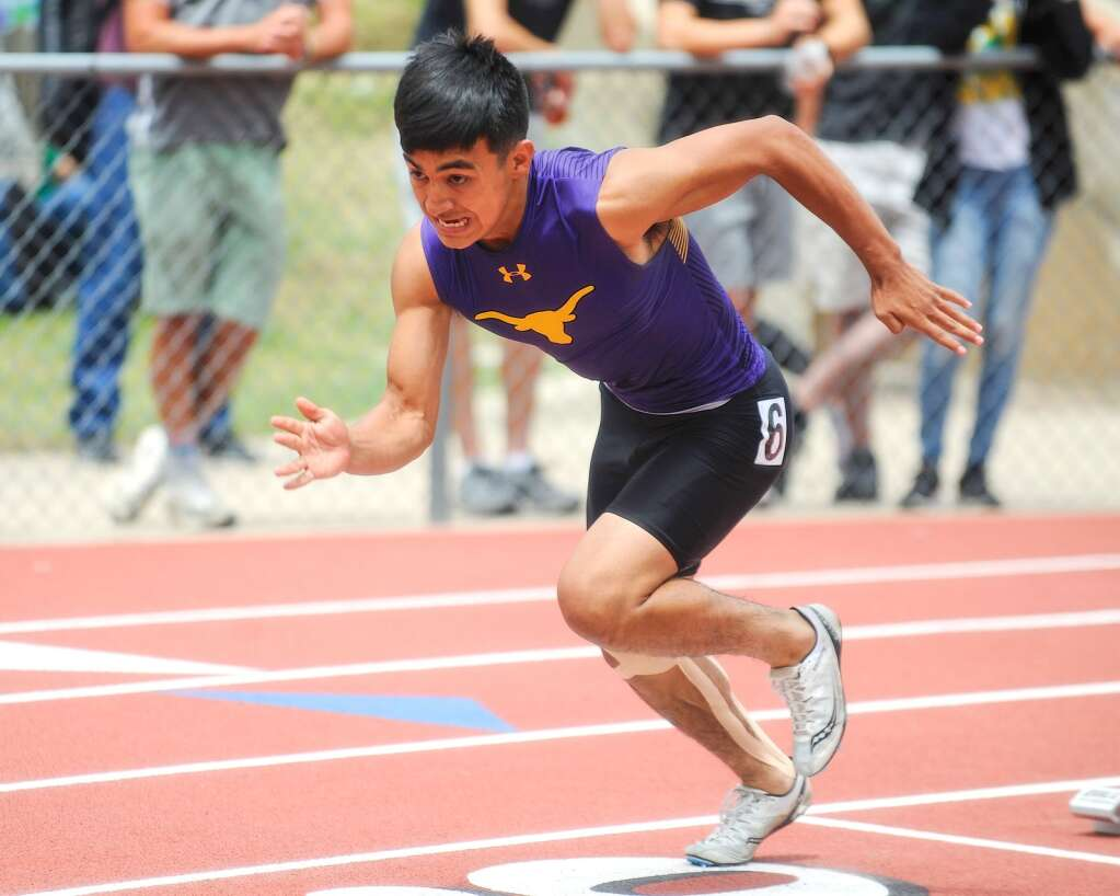 Basalt High School senior Rulbe Alvarado competes in the Class 3A boys' 400-meter sprint at the state track and field championships on Saturday, June 26, 2021, at Jefferson County Stadium in Lakewood. Photo by Shelby Reardon/Steamboat Pilot & Today.