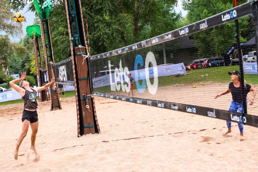 The MotherLode Volleyball Classic returned to Koch Lumber Park on Wednesday, Sept. 1, 2021, with the master's and senior's division on the first day of the annual event in Aspen. | Photo by Austin Colbert/The Aspen Times