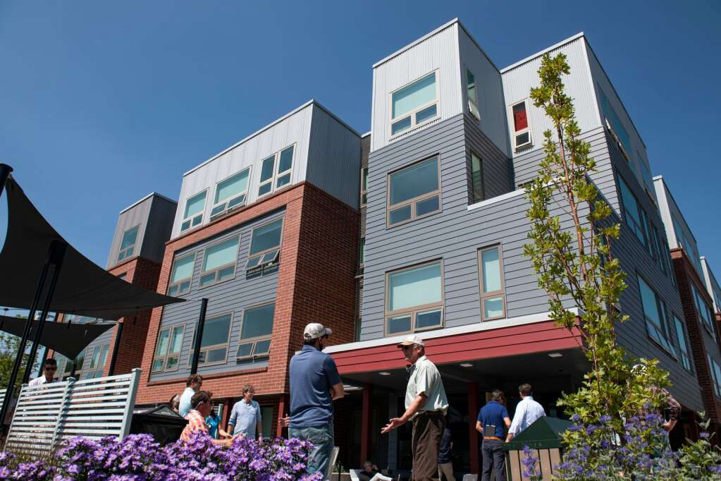 The Hubs at Willits includes eight affordable housing units for childcare professionals. A grand opening was held for the facility on Thursday, Sept. 9, 2021. (Kelsey Brunner/The Aspen Times)