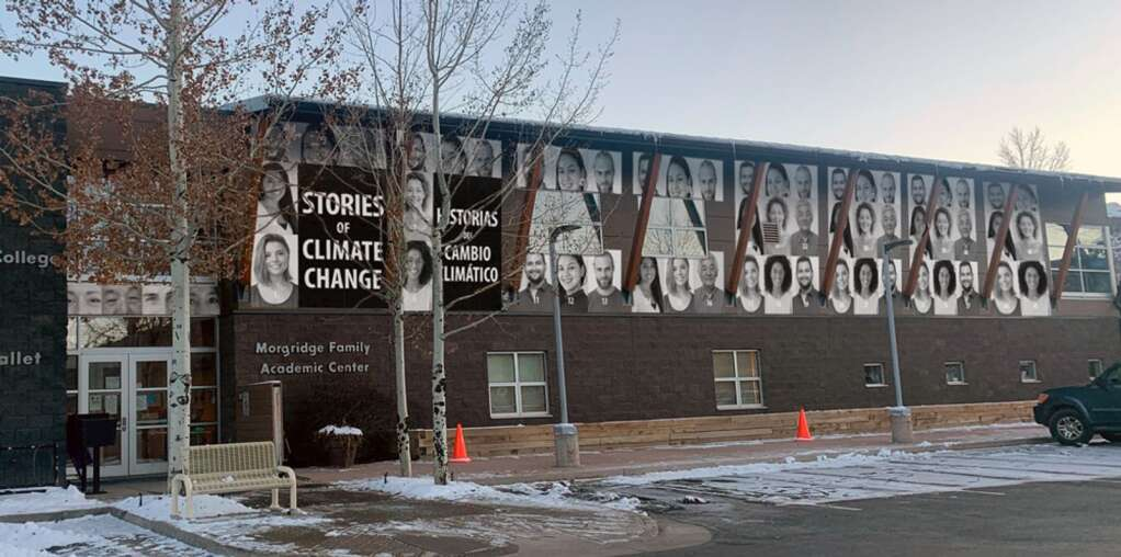 Artist's rendering of the proposed mural at CMC Aspen. (Courtesy photo)