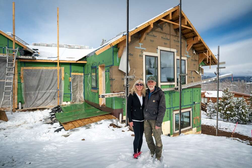 Deana and Rick Pratt stand outside their home April 27 outside of Silverthorne. | Photo by Grace Coomaraswamy / GLC Productions