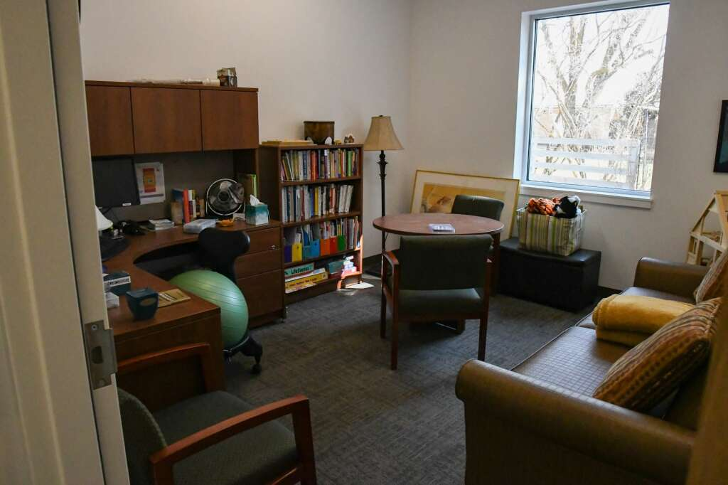 A therapy room at the new Mind Springs Health Glenwood Springs location. |Chelsea Self / Post Independent