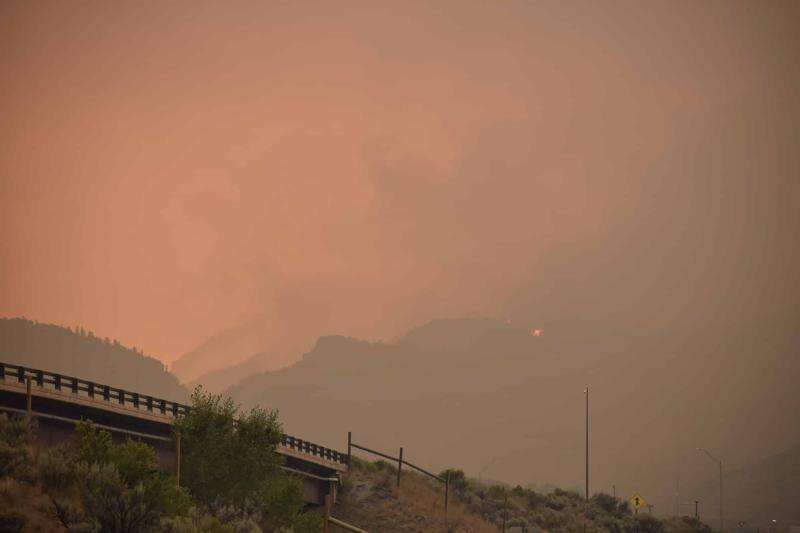 The Grizzly Creek Fire has burned more than 32,000 acres, impacting the headwaters of the Colorado River. | Chris Dillmann, Vail Daily