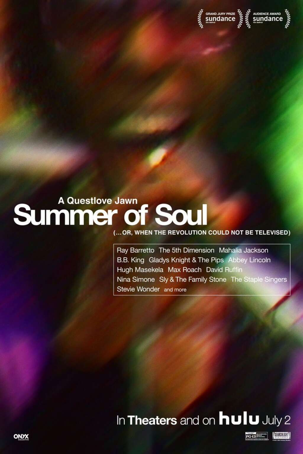 """""""Summer of Soul"""" will have outdoor screenings this weekend in Snowmass Town Park and Marcus Garvey Park in Harlem, where it was filmed in 1969. It goes to theaters and streaming on July 2."""