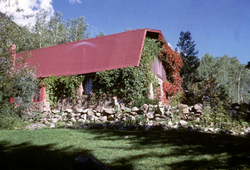 The lodge as it looked in 1968 at the Cooper family's Aspen Park property east of town.   Cooper family/courtesy photo