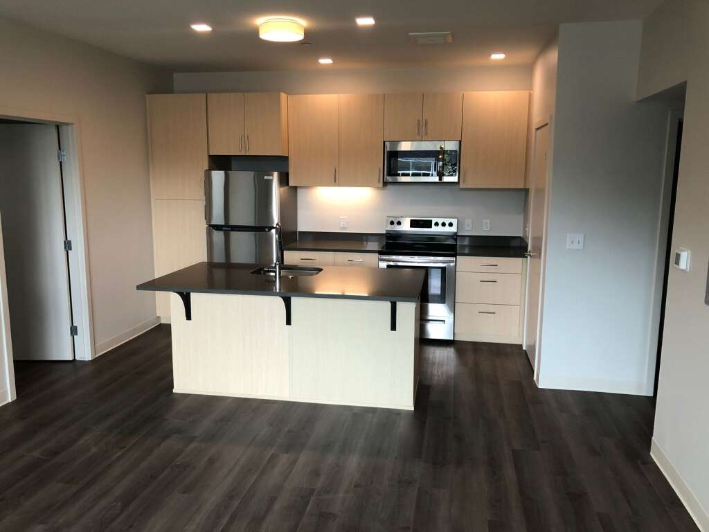Eight of the 42 units are dedicated to licensed daycare professionals. Here is the kitchen of one of those units. | Scott Condon/The Aspen Times
