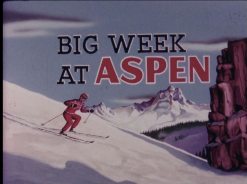 """""""Big Week at Aspen"""" screens Tuesday in the Aspen Historical Society and Aspen Film's Retro Film Series online."""