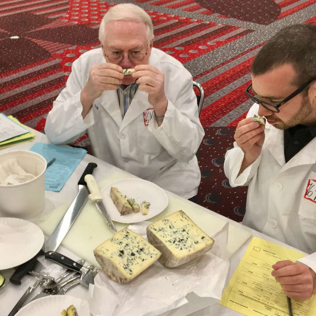Behind the scenes of the judging panel at the 2017 American Cheese Society competition in Denver in July 2017. (Amanda Rae)