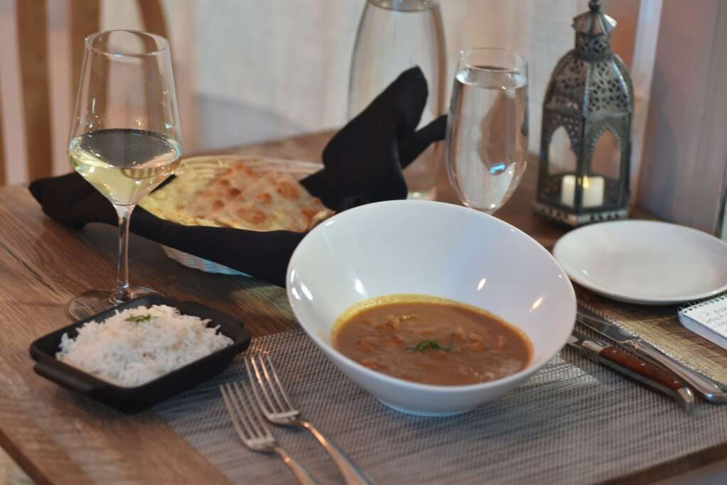 Both restaurant owners are from India and take pride in serving dishes made from scratch that taste like home. | McKenna Harford / mharford@skyhinews.com