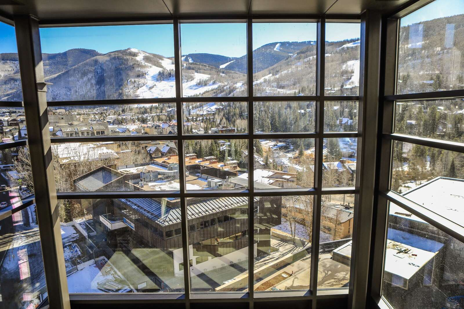 A view overlooking Vail Mountain and the town below at the hospital's new wing. | Chris Dillmann/cdillmann@vaildaily.com