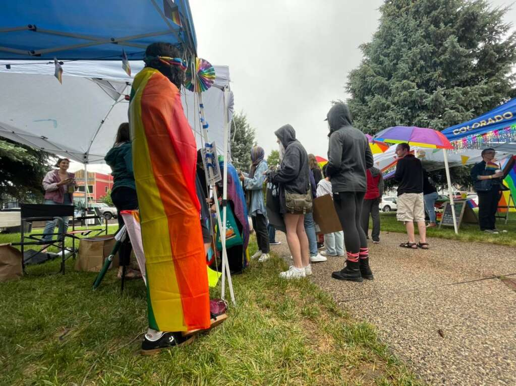 It got off to a rainy start, but the community came out to celebrate LGBTQ Pride in downtown Steamboat Springs on Saturday afternoon. (Photos by Bryce Martin)