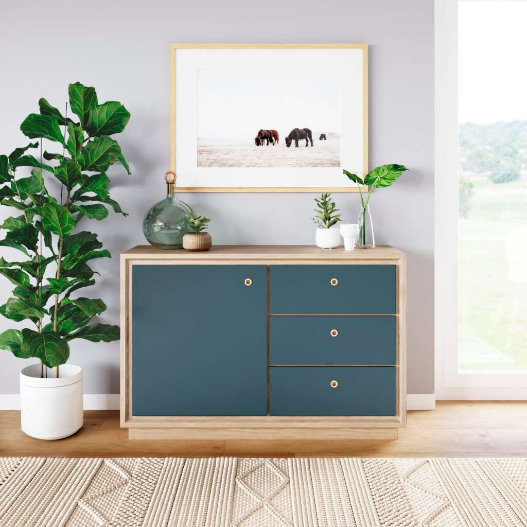 The Eleanor smart storage chest by Forti Goods. | Anna Spaller Photography