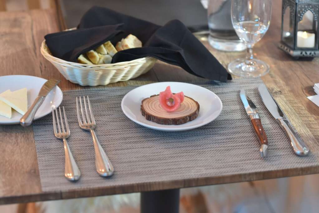 Regardless of what menu diners order off of, they will be served amuse bouche throughout their meal.   McKenna Harford / mharford@skyhinews.com