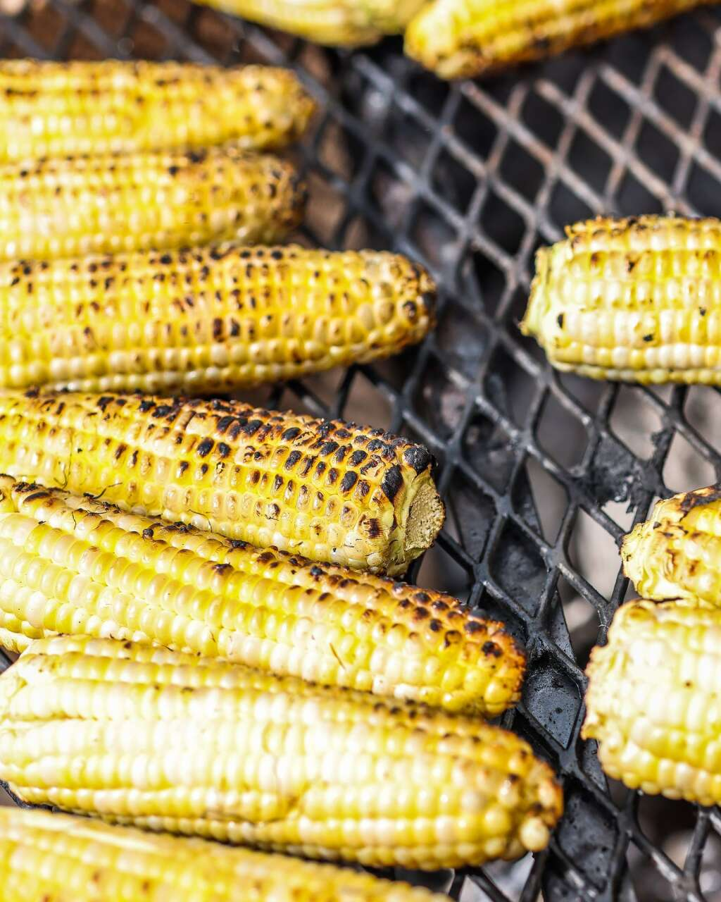 Corn is grilled during Heritage Fire on Saturday, July 31, 2021, in Snowmass Base Village. Photo by Austin Colbert/The Aspen Times.