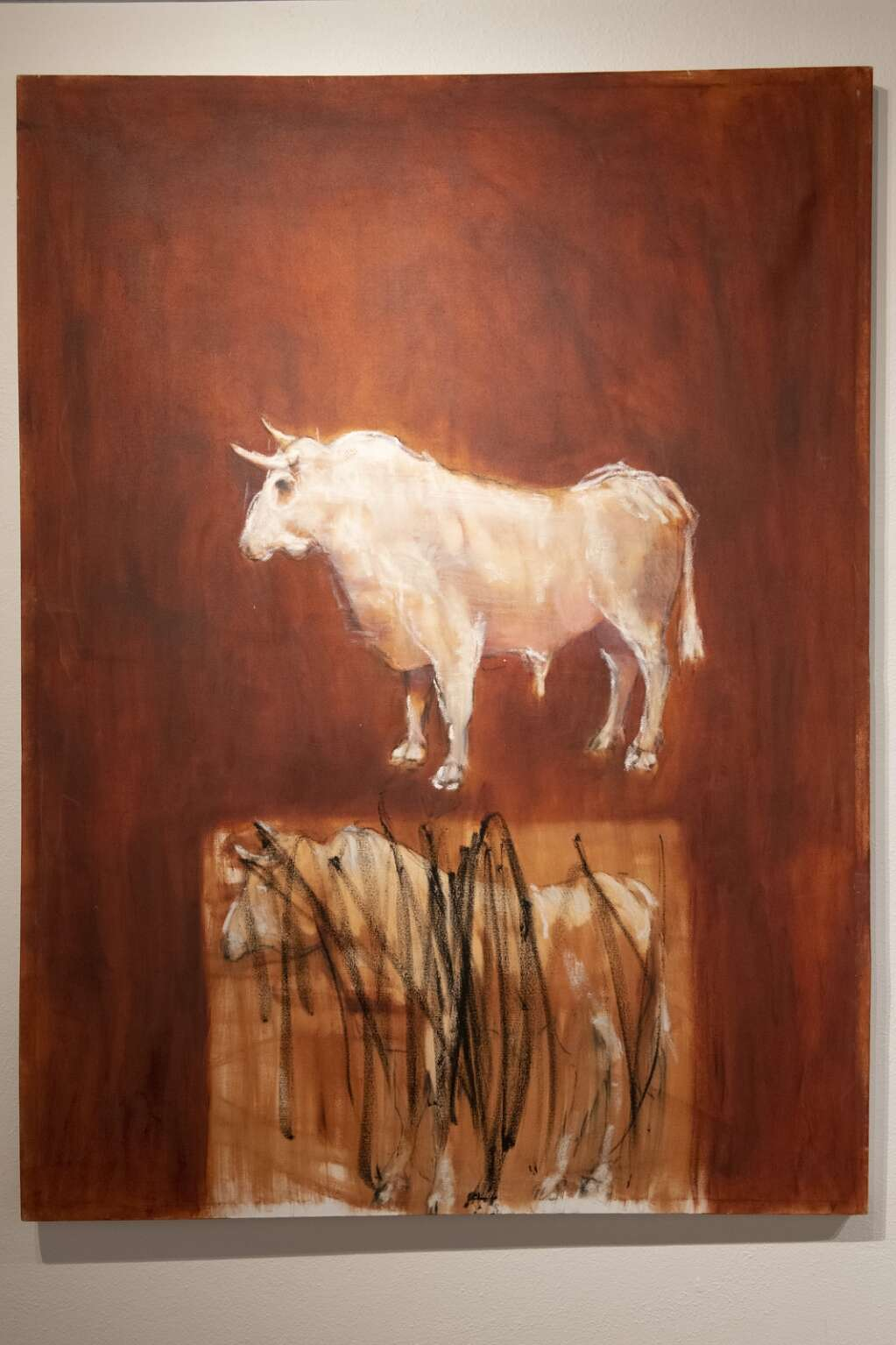 An exhibition featuring work by  Annie Decamp and Michael Dowling at the Red Brick Center for the Arts in Aspen on Tuesday, March 2, 2021. (Kelsey Brunner/The Aspen Times)