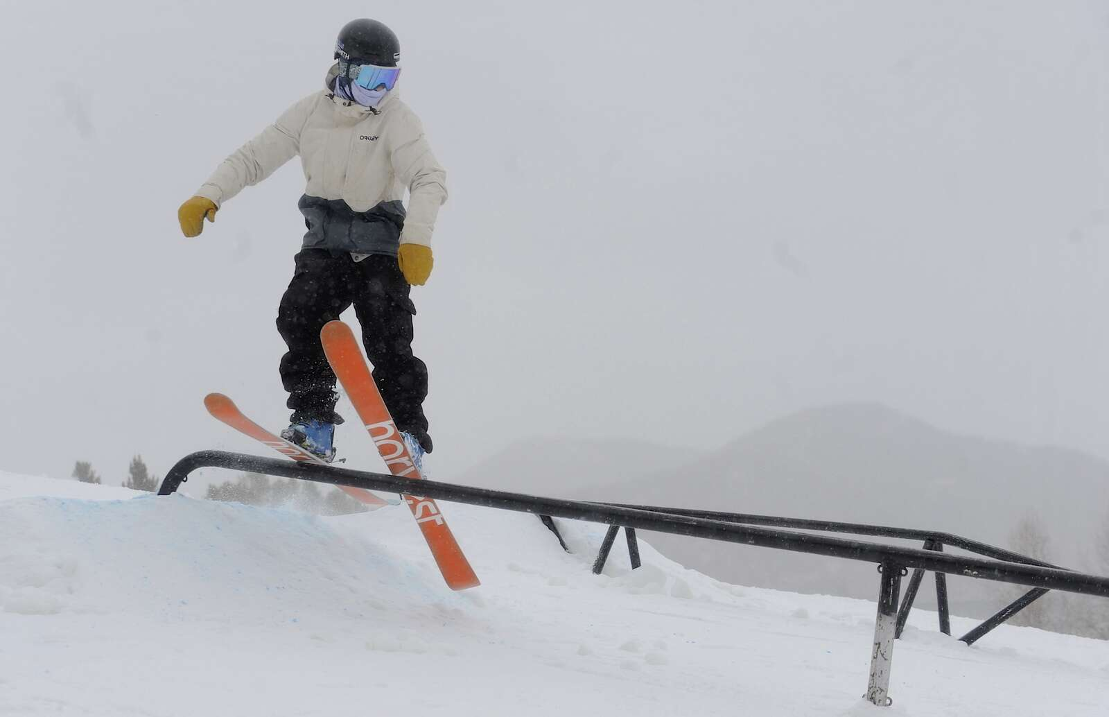 Snowboarders and Skiers of all ages and abilities gathered at a free, public rail jam at Howelsen Hill on Saturday.