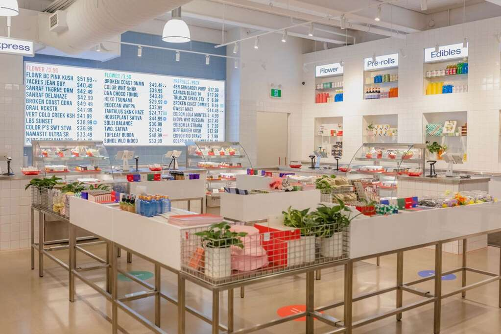 Superette, a Canadian dispensary chain with five locations in Toronto and Ottawa, won Gold in Brand Design.   Courtesy Superette