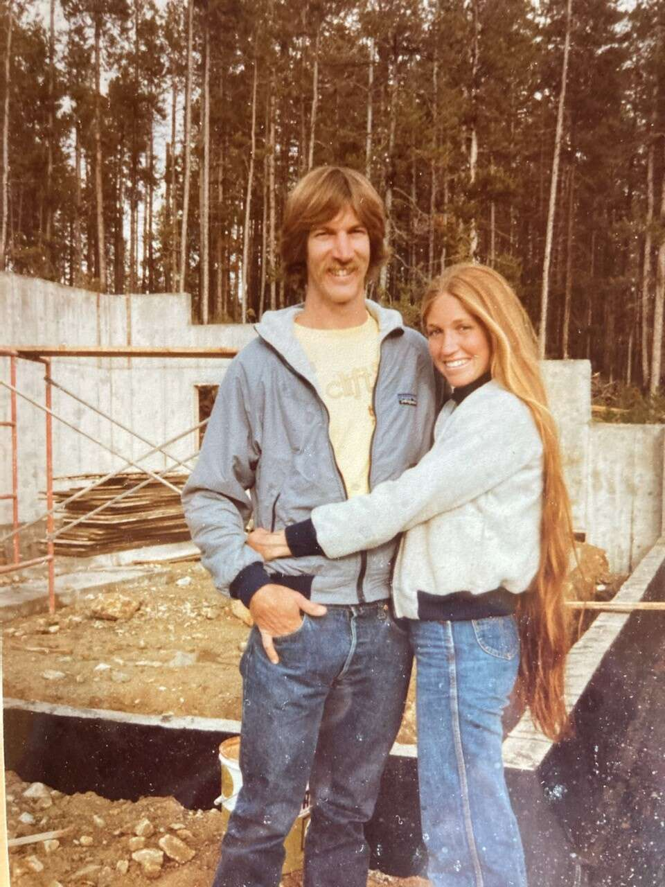 David Jefferson, left, and Sharon are pictured in 1983. The couple married that year after meeting in 1981. | Photo from Lauren Jefferson