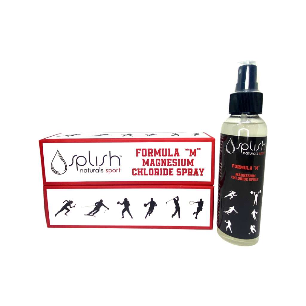 The magnesium chloride spray is one of the new products that is part of Splish Naturals' new sports line. The product line was launched in August 2021. | The Splish Network/Courtesy photo