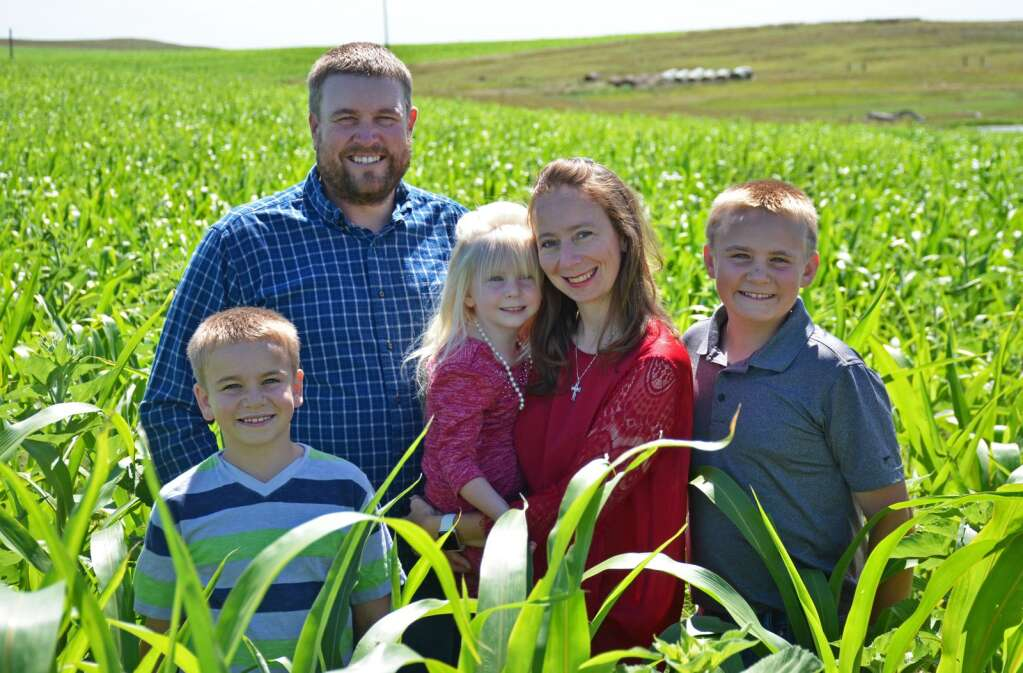 The Neuharth family is dedicated to sustainable farming practices.