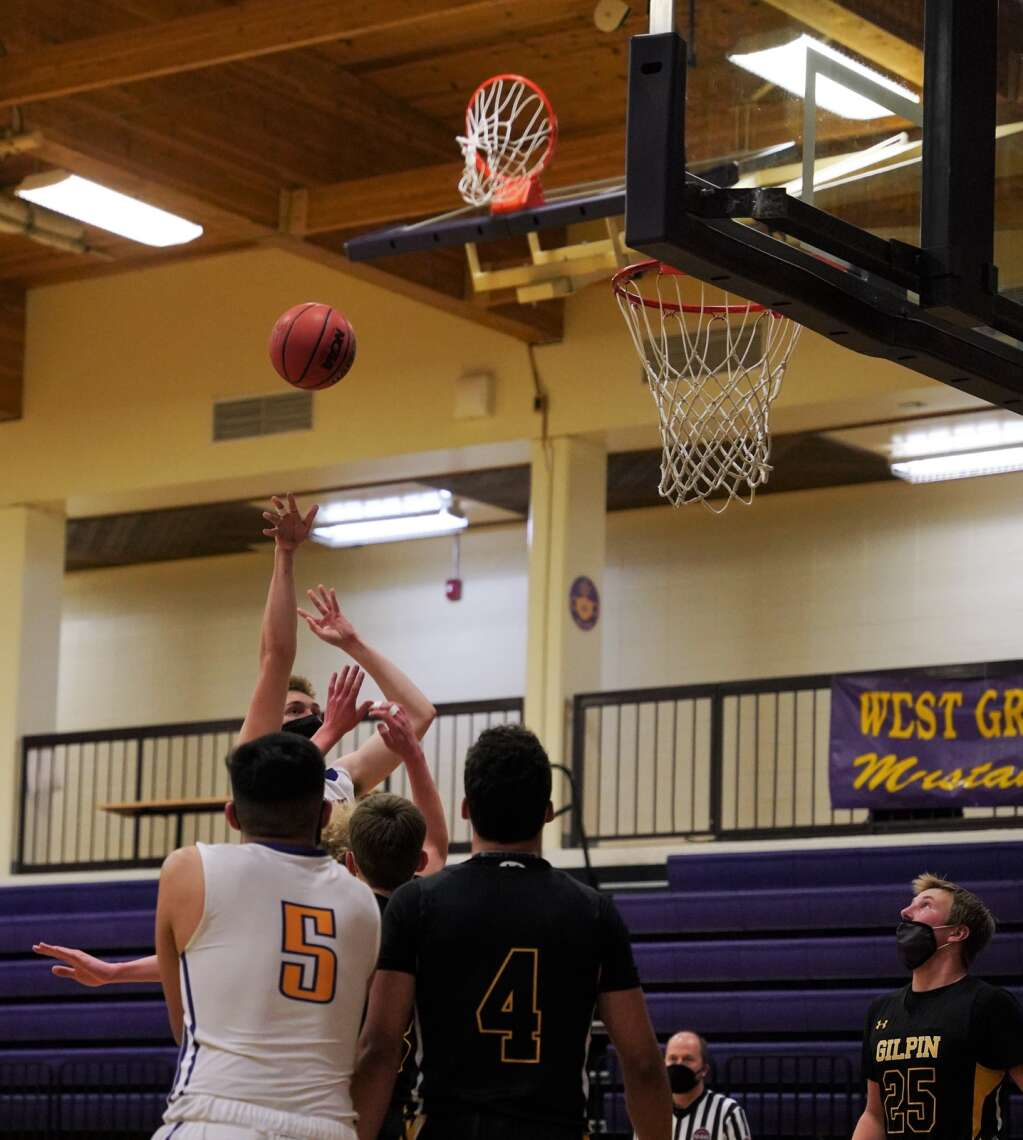 West Grand boys basketball defeated Gilpin County 55-52 on Jan. 28 in Kremmling.