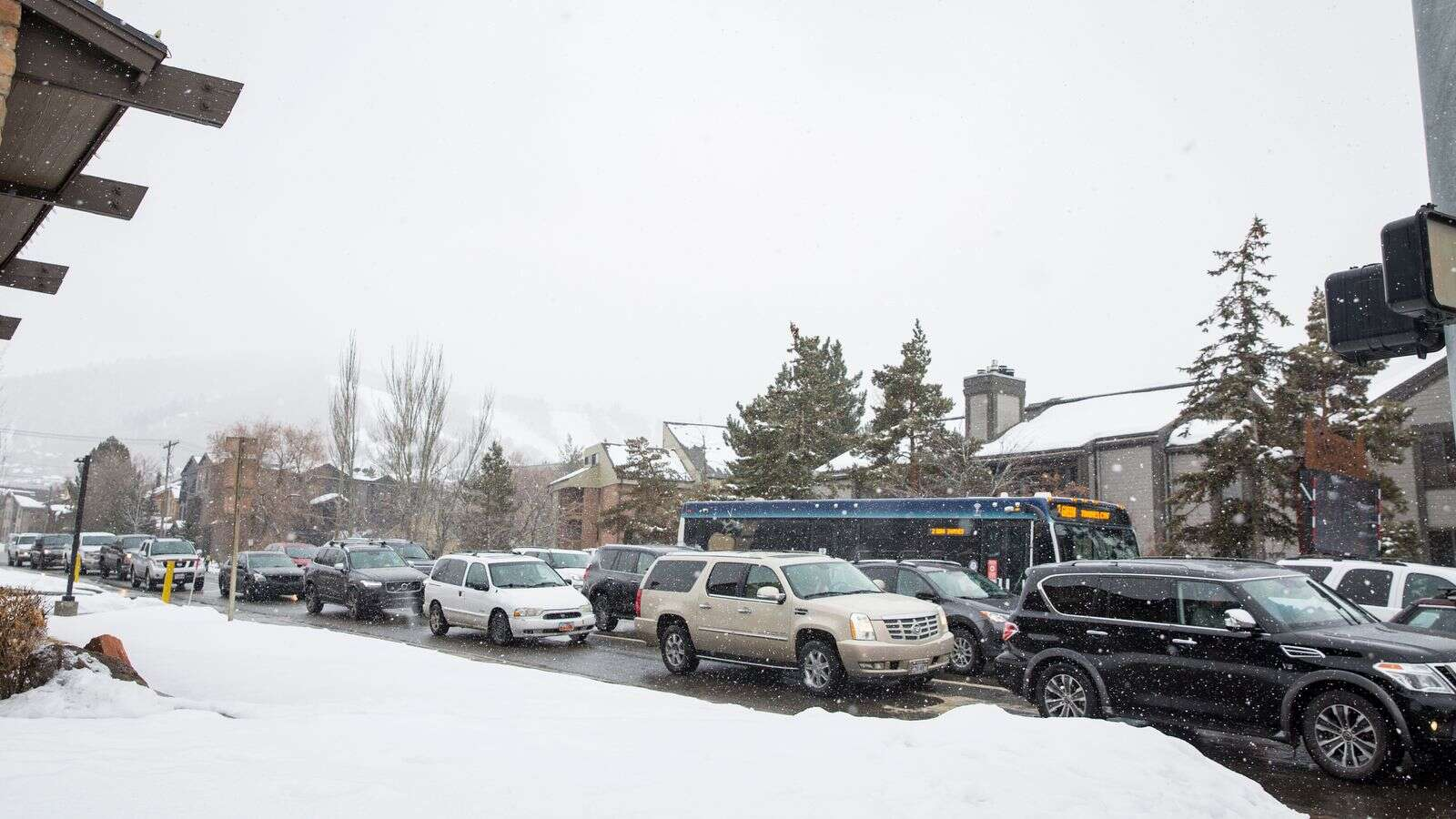 Park City traffic remains heavy, but relief expected in a matter of days