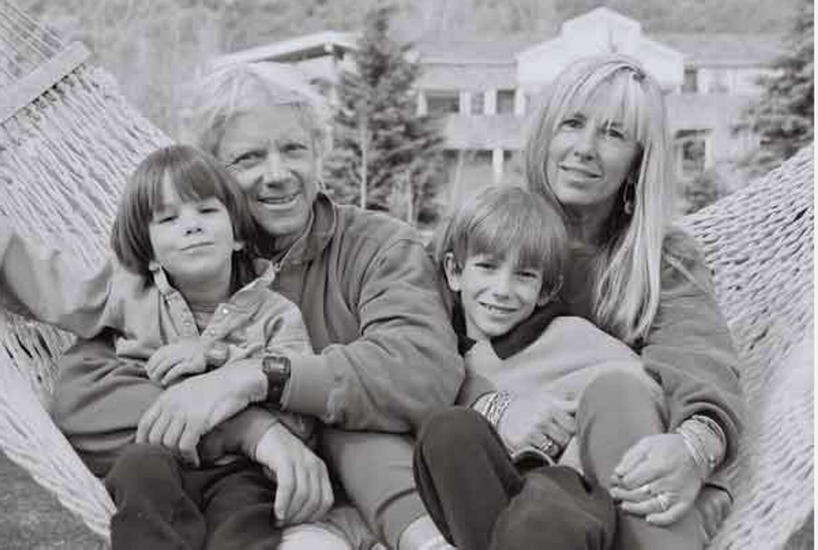 Art Daily and his late wife, Kathy, and two late sons, Shea and Tanner. (Courtesy photo)