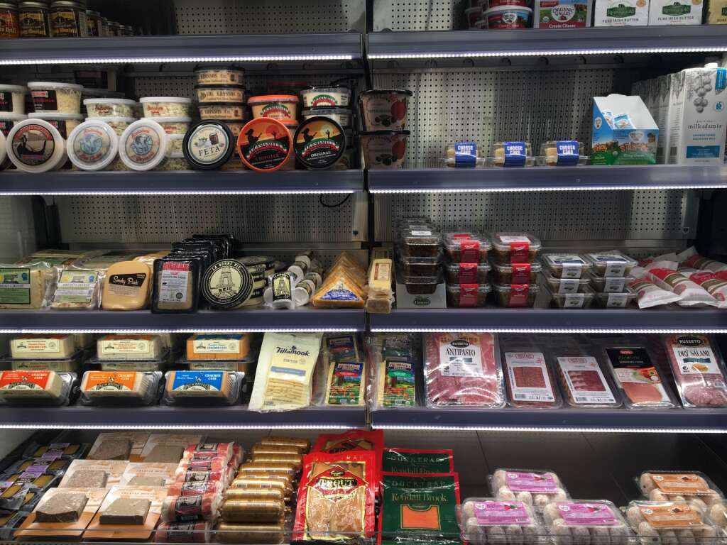GG's Market offers a selection of gourmet meats and cheeses as well as kitchen-essential varieties and some vegan dairy options.  | Kaya Williams/The Snowmass Sun