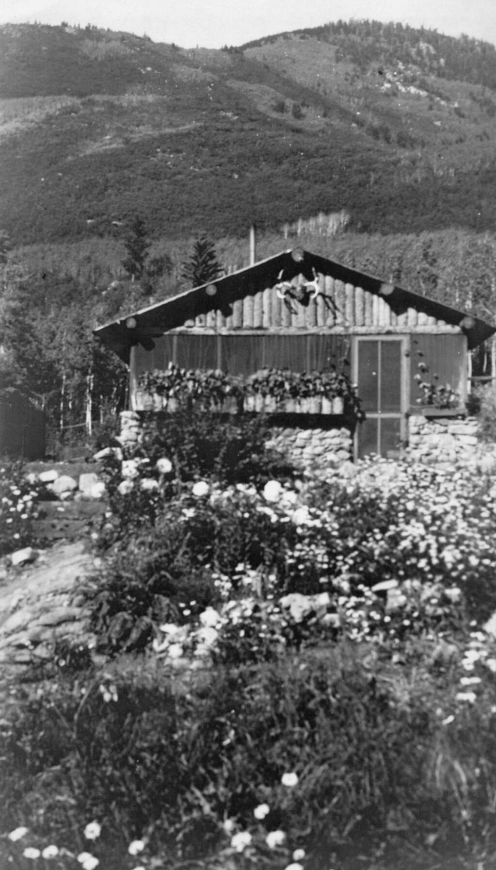 """Stirling """"Buzz"""" Cooper was born in this cabin, known as The Bungalow, in 1931. It burned down when he was a child.   Cooper family/courtesy photo"""