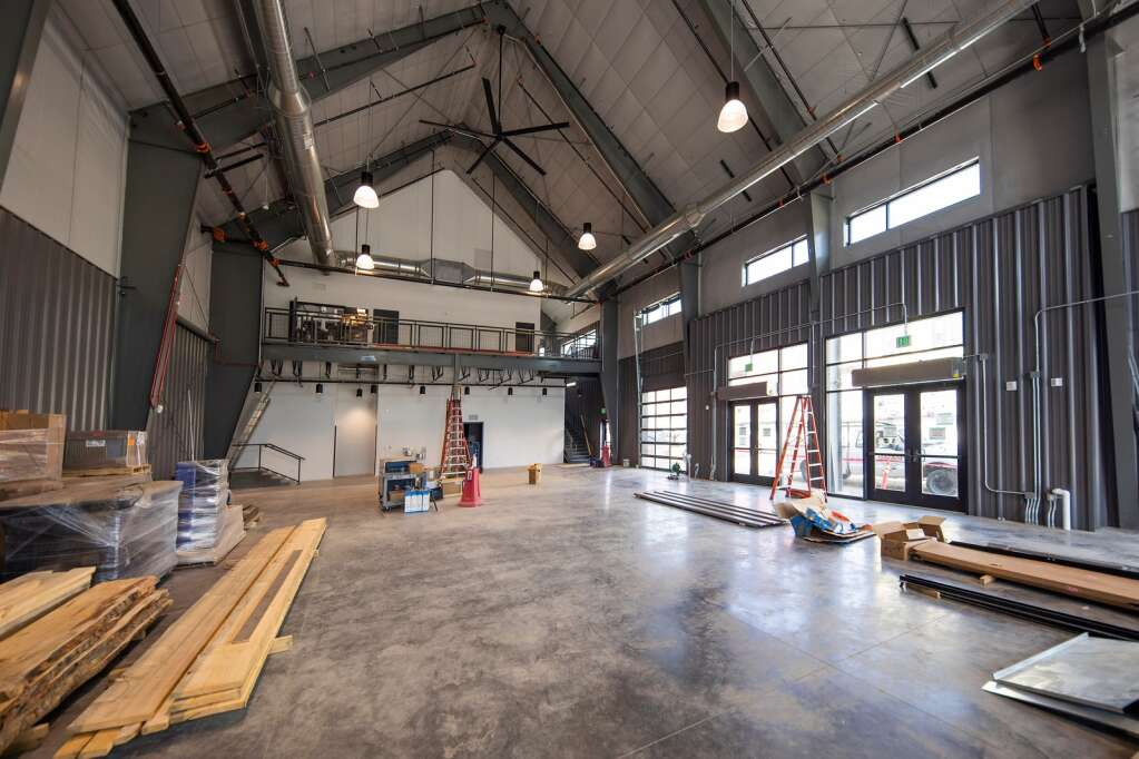 Event space located inside the Bluebird Market in Silverthorne is pictured Tuesday, July 20. | Photo by Tripp Fay / Tripp Fay Photography