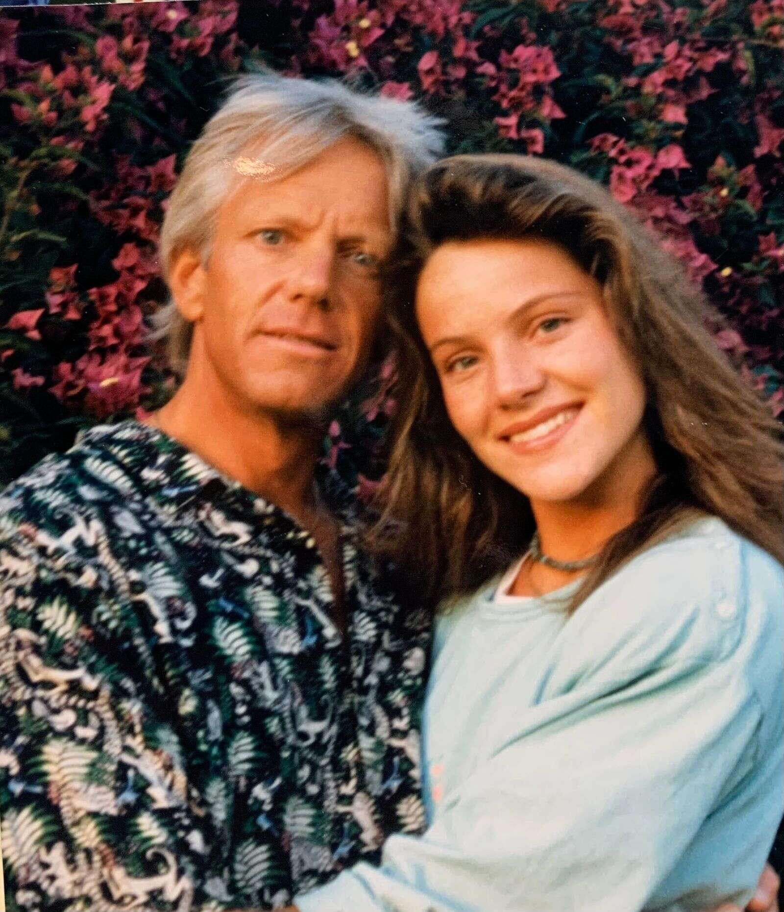 Art Daily and his daughter, Piper, in 1990. (Courtesy photo)