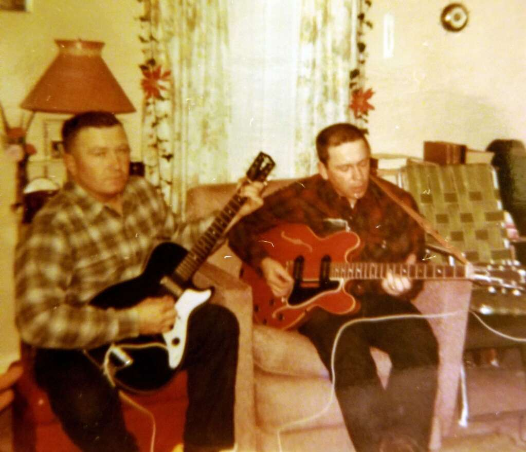 John and Buzz at Joe's in the 1950s.