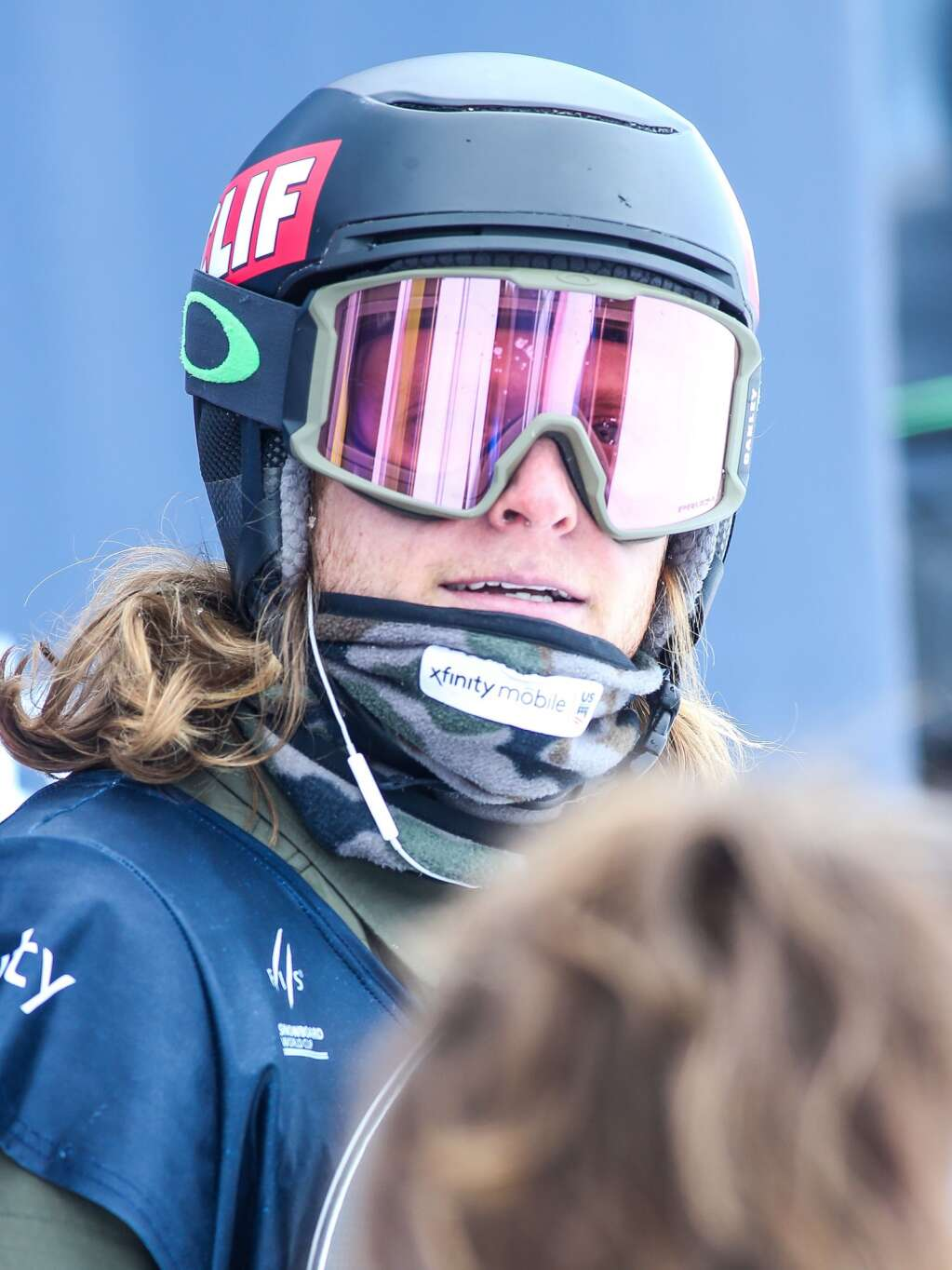 Taylor Gold awaits his score during the men's snowboard halfpipe final of the U.S. Grand Prix and World Cup on Sunday, March 21, 2021, at Buttermilk Ski Area in Aspen, Colo. Photo by Austin Colbert/The Aspen Times.