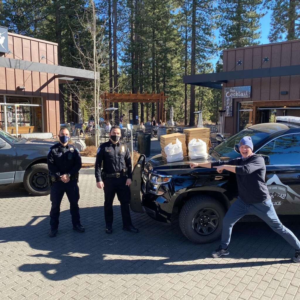 SLTPD partnered with Tahoe AleWorx to pay it forward.