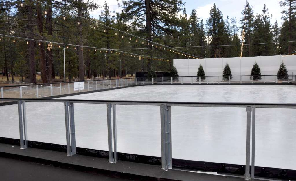 The ice rink at Edgewood.