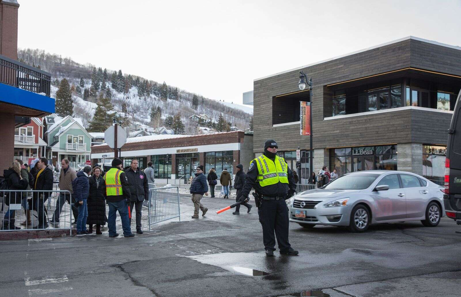 Sundance 2021 policing: no movie stars needing help, no demonstrators and few traffic issues