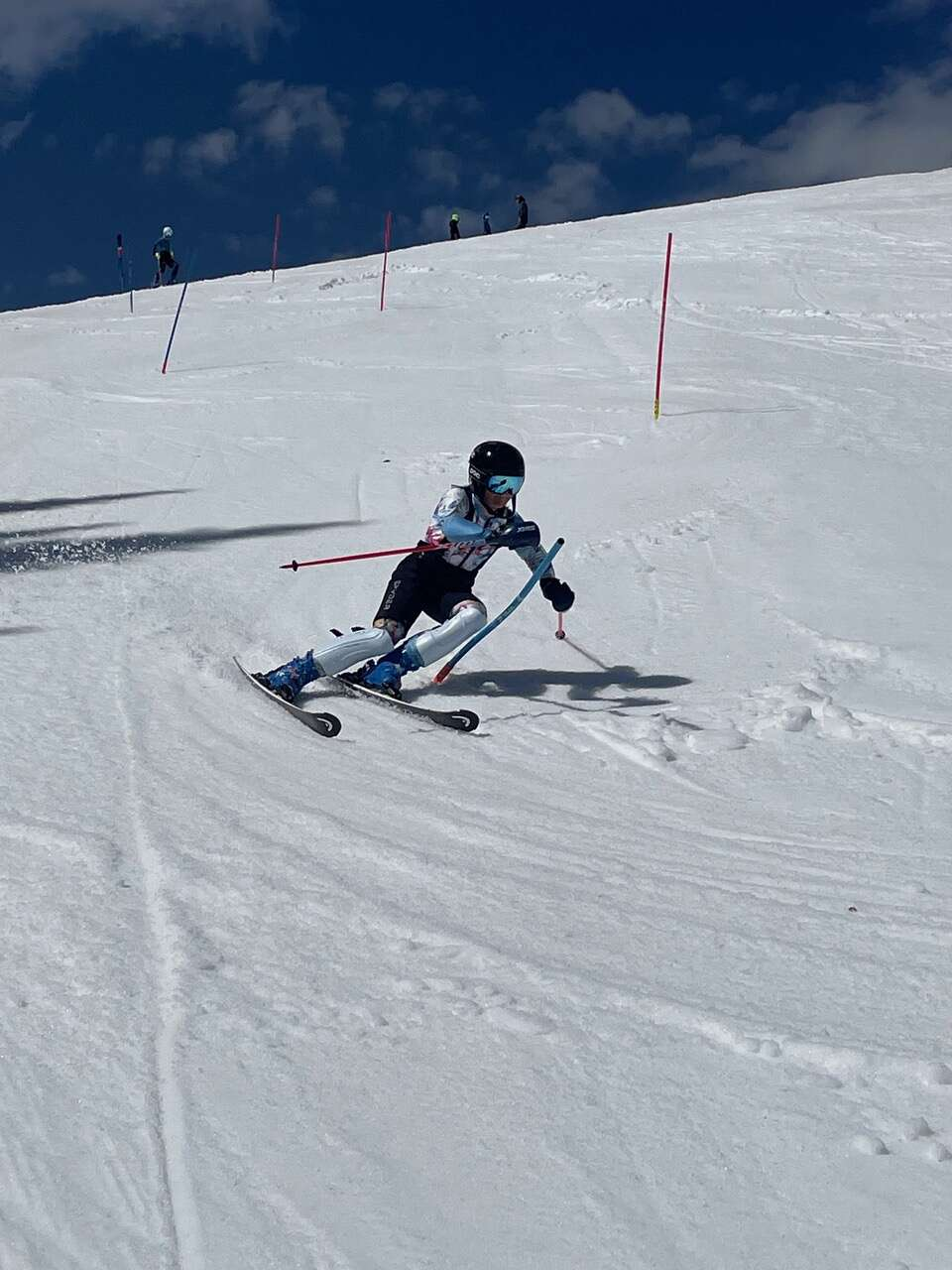 Steamboat Springs Winter Sports Club Alpine skiers at the U14, U16 and FIS levels have been extending winter by training at Copper Mountain. They'll take advantage of the snow until June 16th.