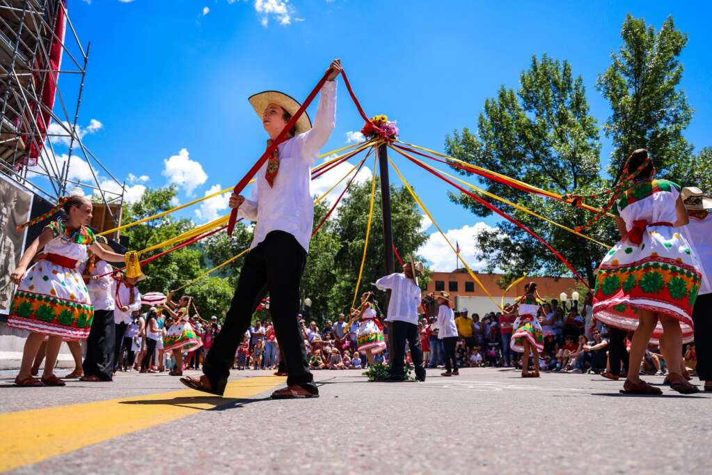 Photos from the Fourth of July celebration on Sunday, July 4, 2021, in downtown Aspen. Photo by Austin Colbert/The Aspen Times.