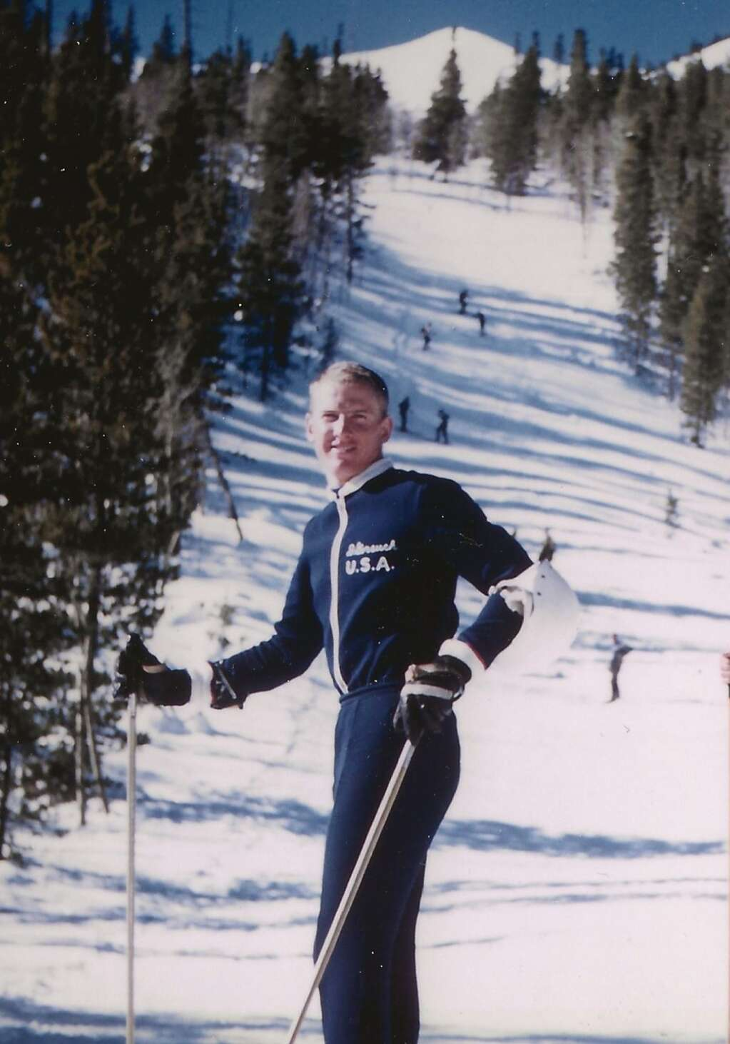 Dave Gorsuch at the 1960 Winter Olympics. | Special to the Daily