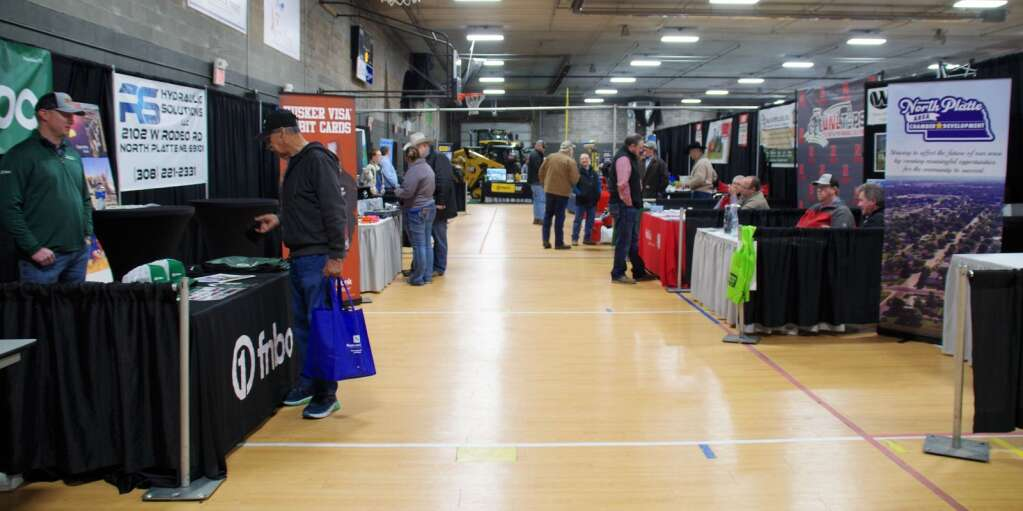 Social distancing at the Expo was enhanced by the wider aisles this year at the 30th Buffalo Bill Farm and Ranch Expo.
