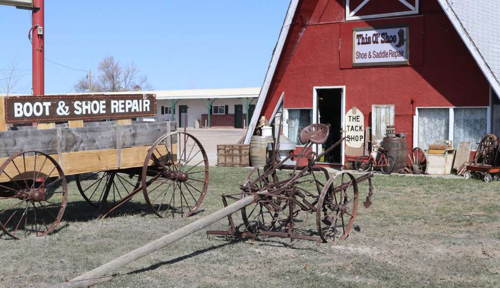 In a location that has traditionally served as a cafe for the community of Harrison, Gerald Foerderer has opened the re-imagined Village Barn, a boot and shoe repair shop that also offers custom leatherwork and antiques.