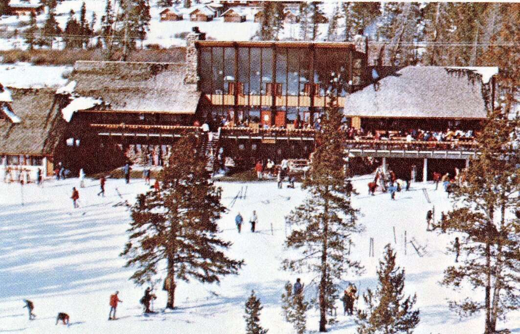 The current Mountain House base area at Keystone Resort is seen on the resort's opening day, Nov. 21, 1970. | Photo from the Bergman family