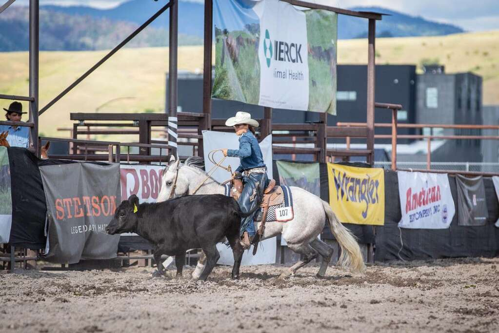 Jayde Trump placed on two horses in the Open Bridle Horse, both of which she started and trained. She believes a cow horse foundation sets her colts up for success in any direction. She won the event on