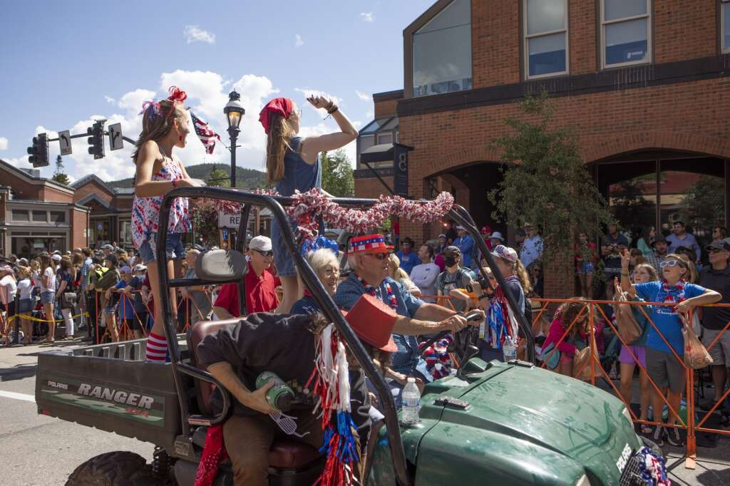 The Fourth of July parade in Breckenridge on Sunday, July 4, 2021. | Photo by Tripp Fay / Tripp Fay Photography
