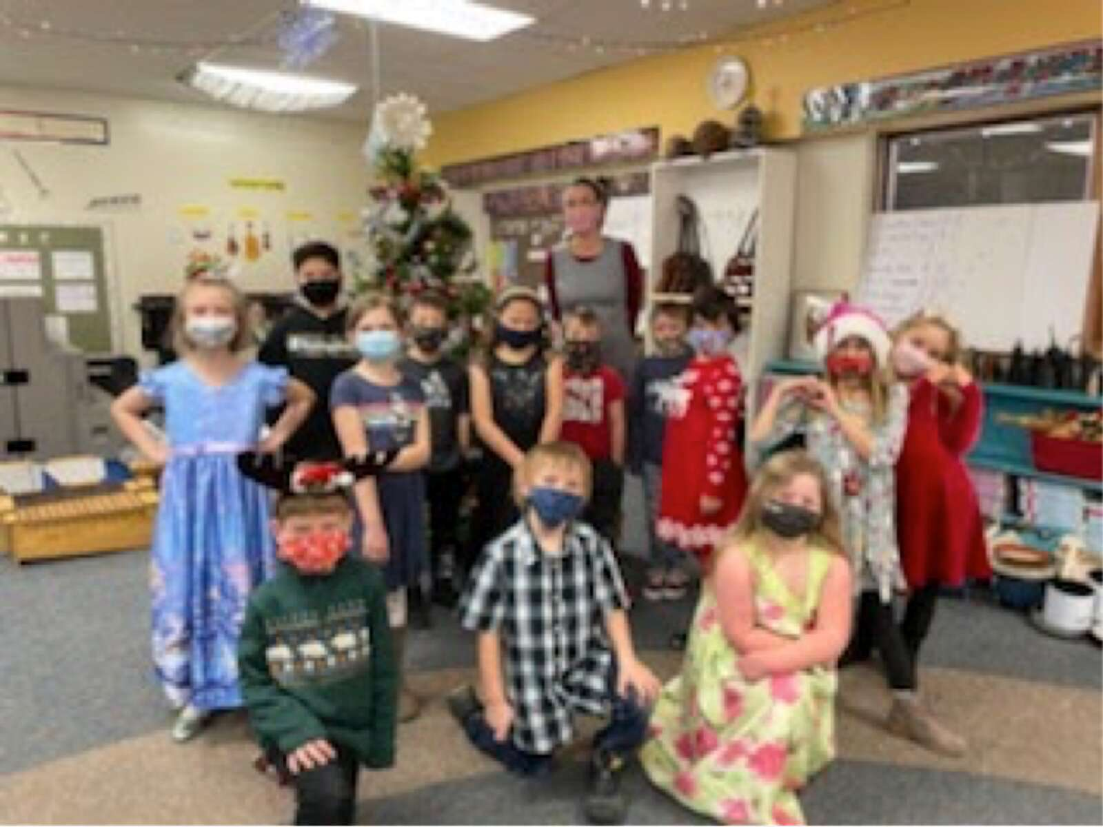 Students at Granby Elementary held a virtual Christmas concert this year. | Courtesy EGSD