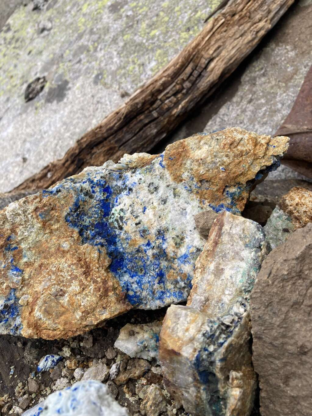 Old mining relics can be seen while climbing Arapahoe Basin Ski Area's new via ferrata climbing course on the East Wall.   Photo by Dawson Viles / Arapahoe Basin Ski Area