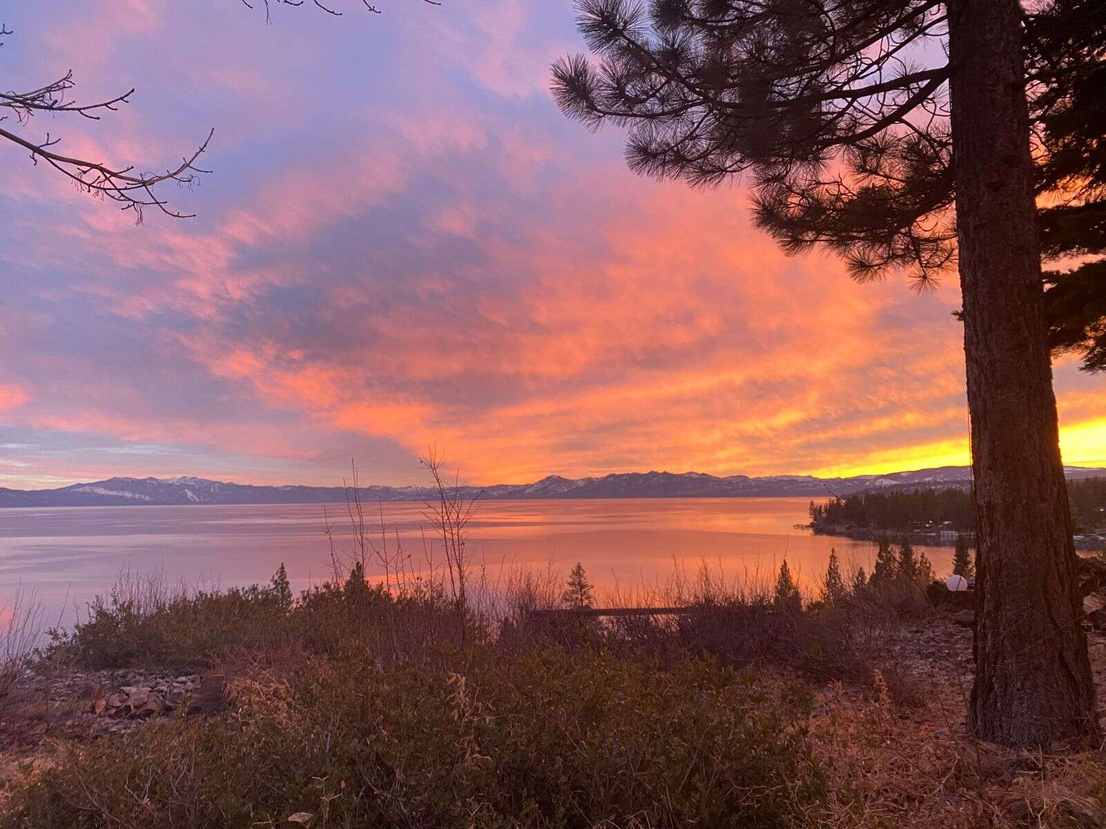 Beautiful sunset at Tahoe Vista. | Submitted by Margie Lockwood