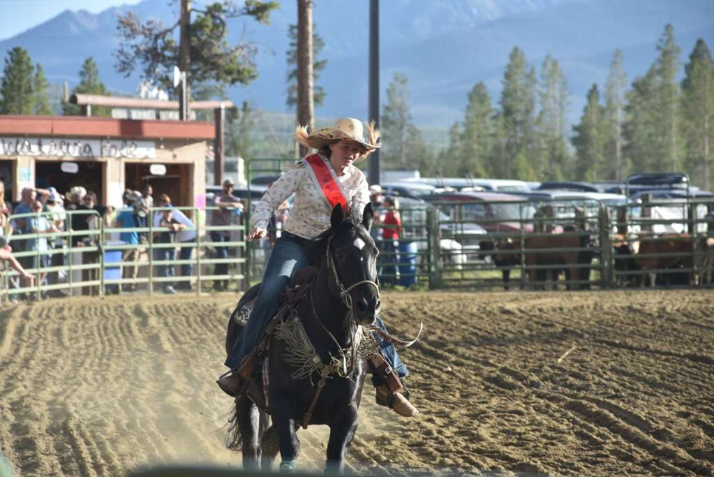 In addition to the CPRA Rodeo events, High Country Stampede hosts ladies pole bending and barrel racing, as well as Ranch Bronc Riding.