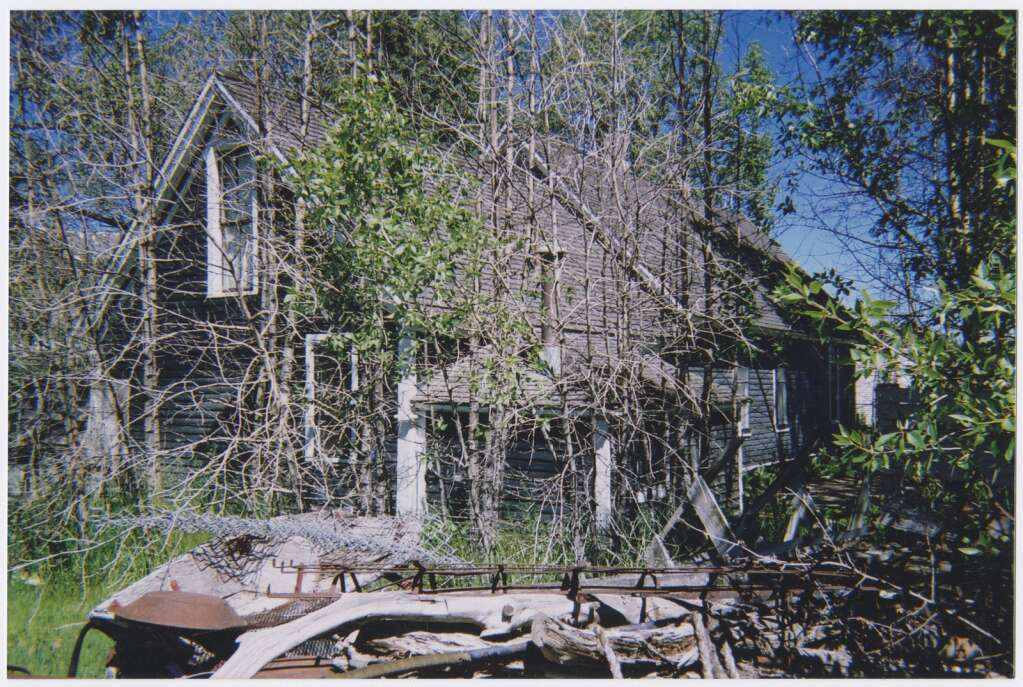 The Barney Ford home is pictured prior to its historic restoration in the early 2000s. | Photo from Sandra F. Mather Archives / Breckenridge Heritage Alliance